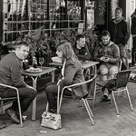 Cafe Culture - with phones, of course