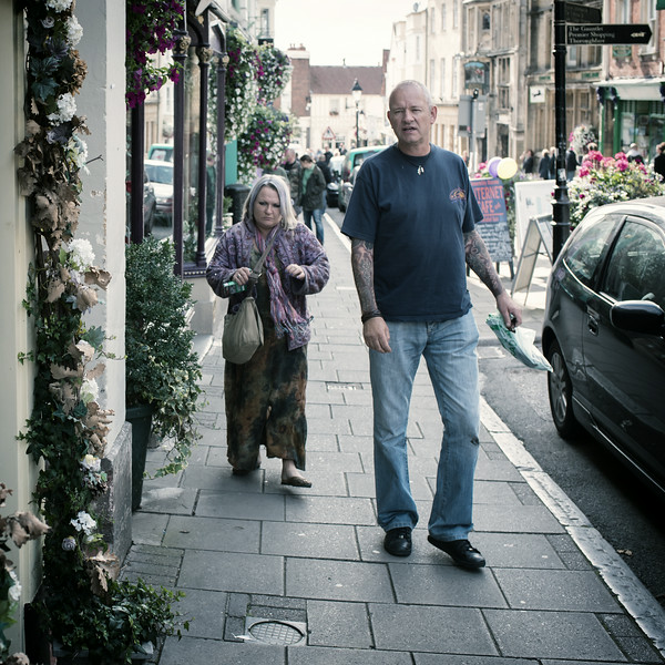 The Streets of Glastonbury