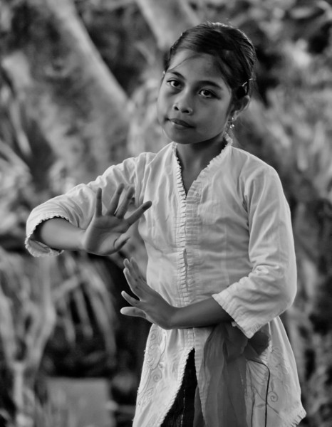 Young Dancer at Practice