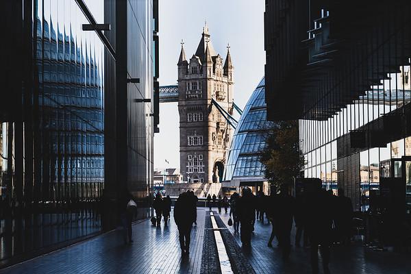 Tower Bridge Framed