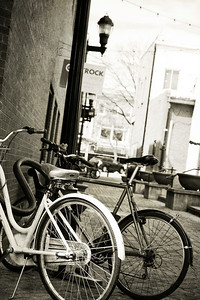Bikes in Old Town Alley