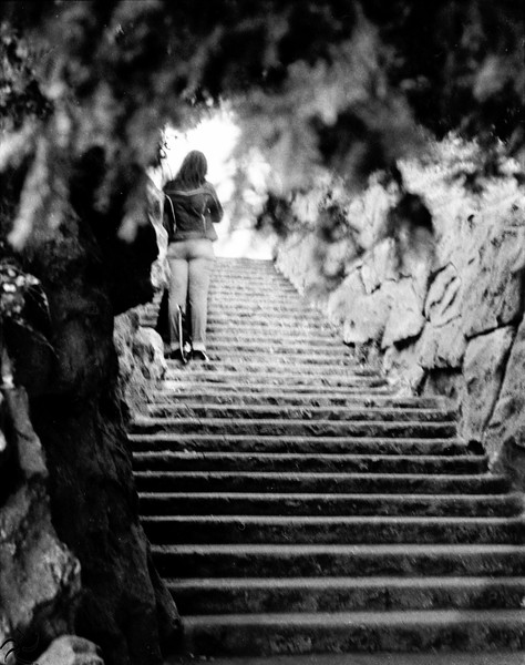 Montmartre's stairs - Paris - France