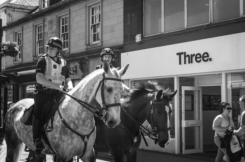 Mounted Polis