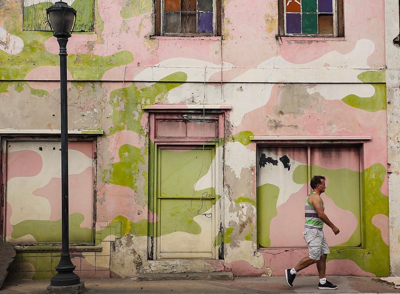 Walking in Nassau