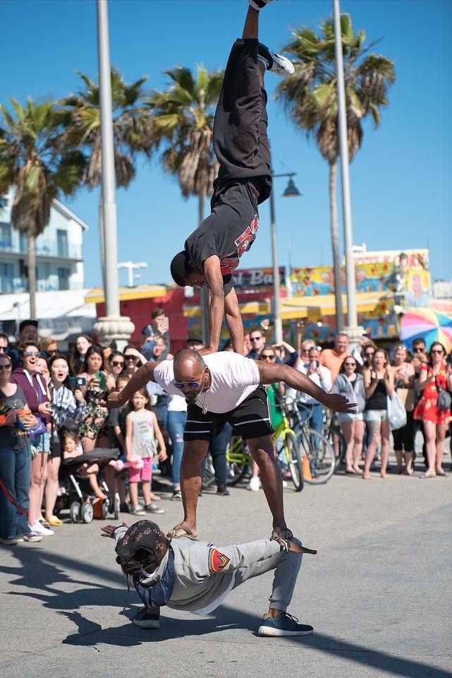 The Calypso Tumblers in Venice Beach, California