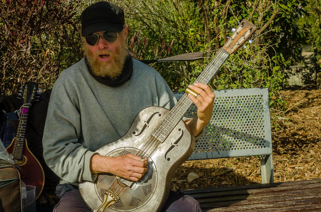 Slide Guitarist