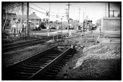 Down the tracks II, mono