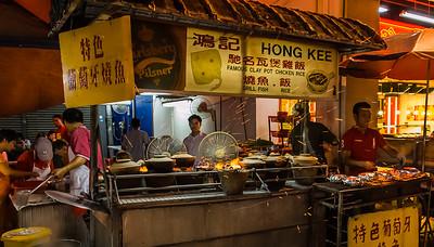 Night life in Kuala Lumpur