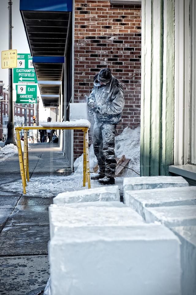 The Ice Sculptor