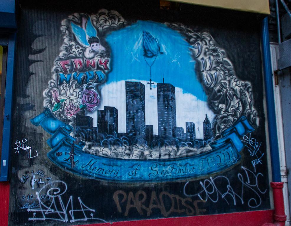 September 11 Street Art Memorial