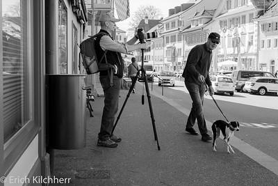 Ueli (https://www.uelimaurer.com/) at work in Sempach