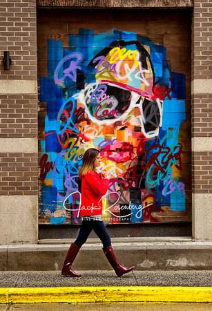 """""""Walking Into Street Graffiti"""""""