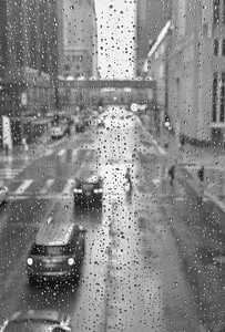 6th and Marquette in the rain