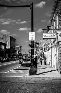 Chestnut and Main II, mono