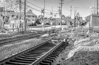 Down the tracks III, mono