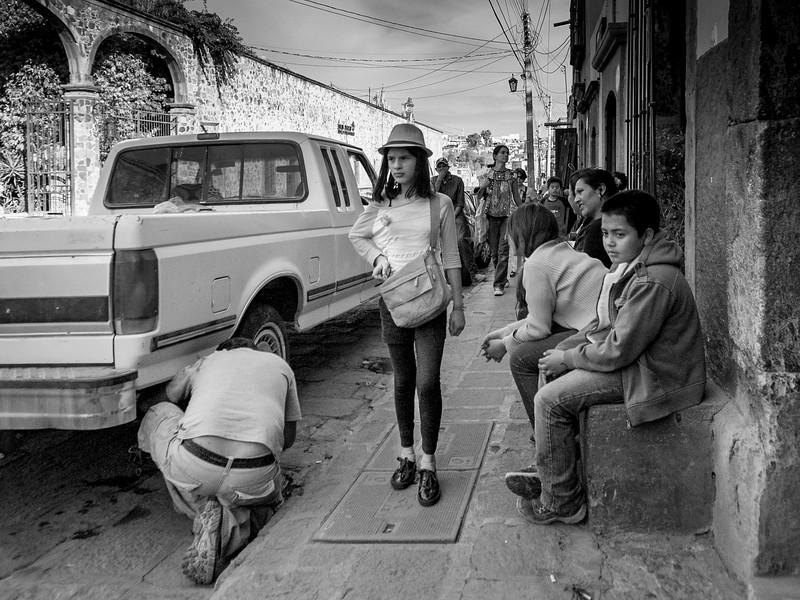 San Miguel de Allende, Mexico: Flat Tire.