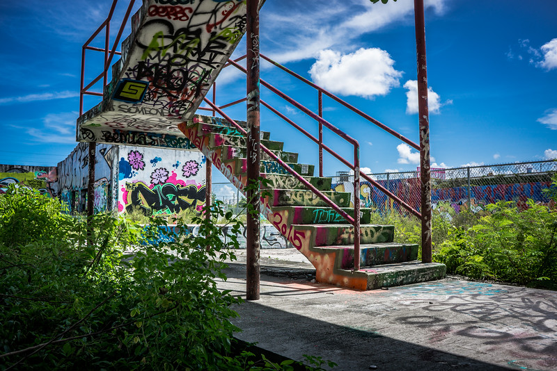 Abandoned RC Cola Plant in Wynwood Miami.