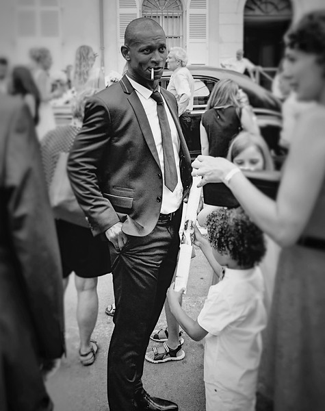 Arles, France:  Suit and Cigarette.