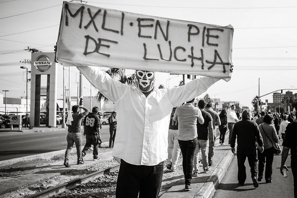 MEXICALI PROTEST
