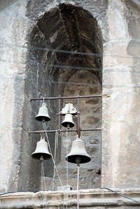 Bells in Jerusalem Old City