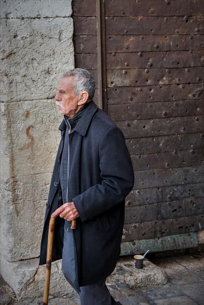 Man in Jerusalem Old City