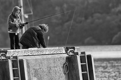 Gone fishing my boy