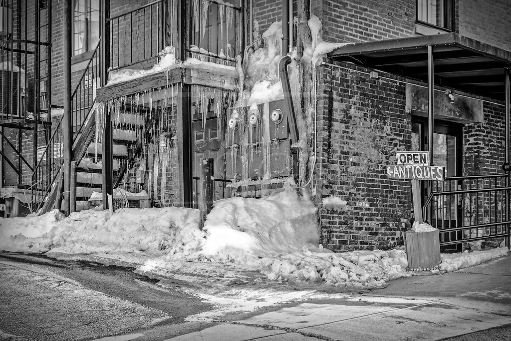Antiques and Icicles