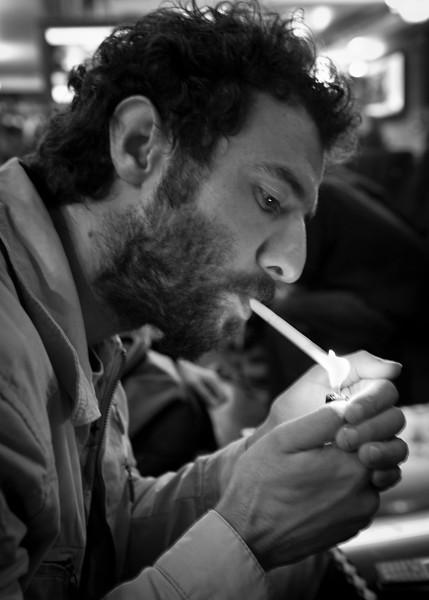 Instanbul, Turkey: Coffee and Smoke.