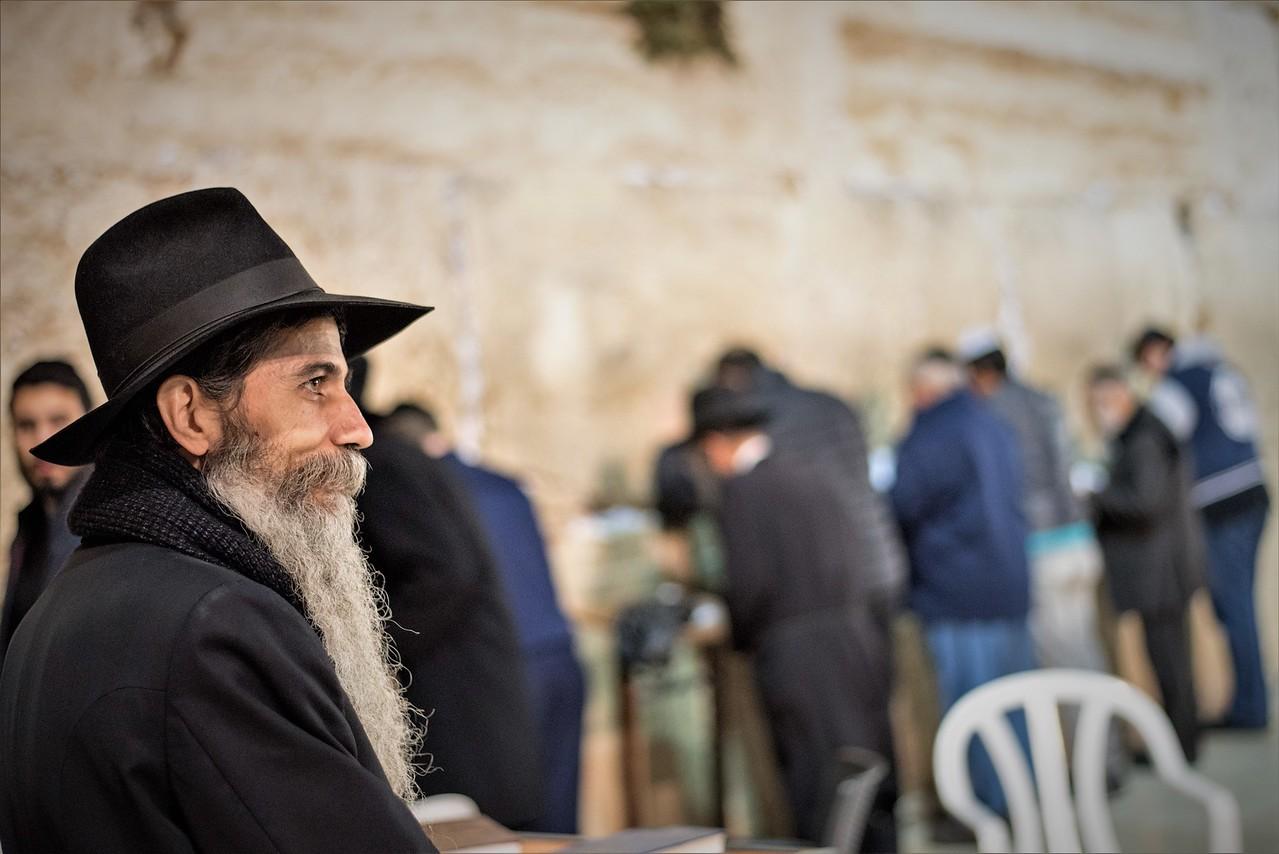 Western wall in Jerusalem Old City