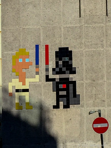 Space Invader's - 'Star Wars'