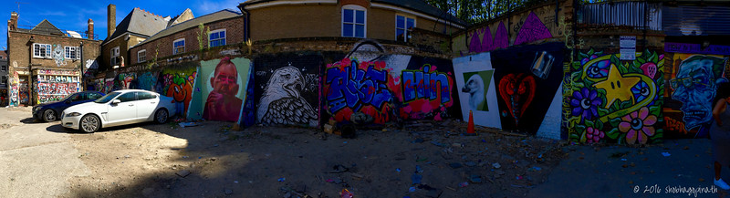 A back alley off Brick Lane