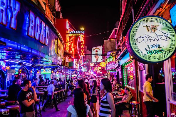 Bangkok, Thailand | Colourful Soi Cowboy