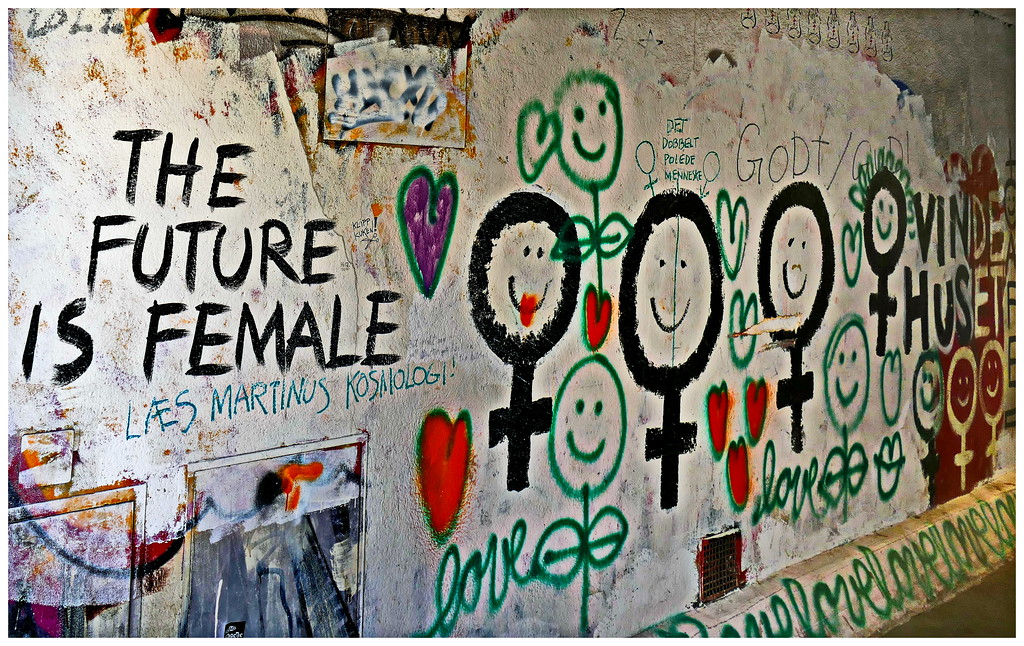 The Future is Female - Copenhagen.