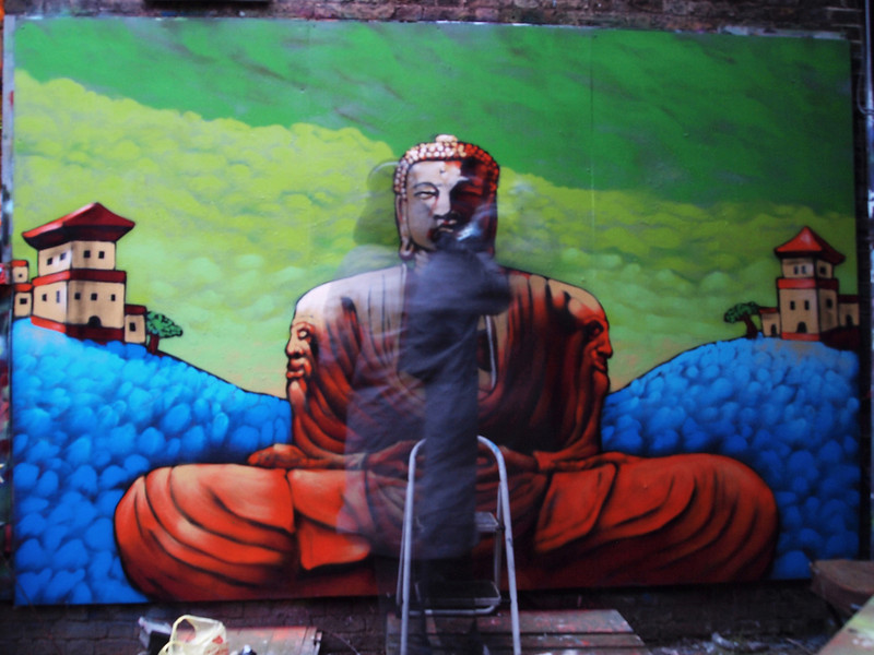 Buddha in progress