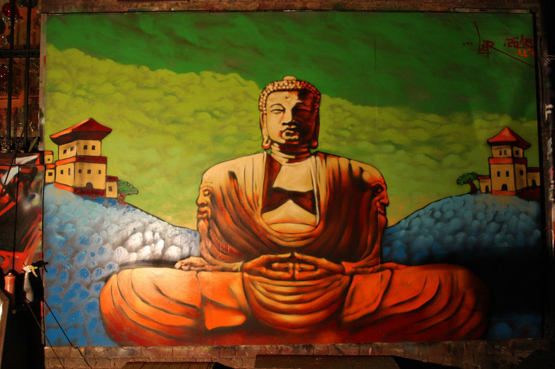 Night Buddha, London