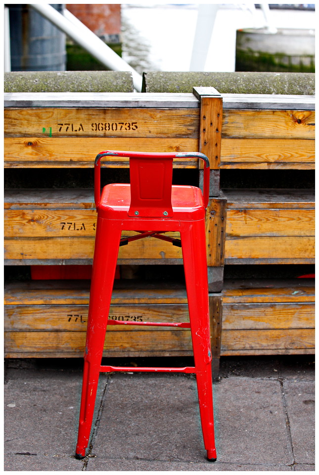 Red Chair - South Bank