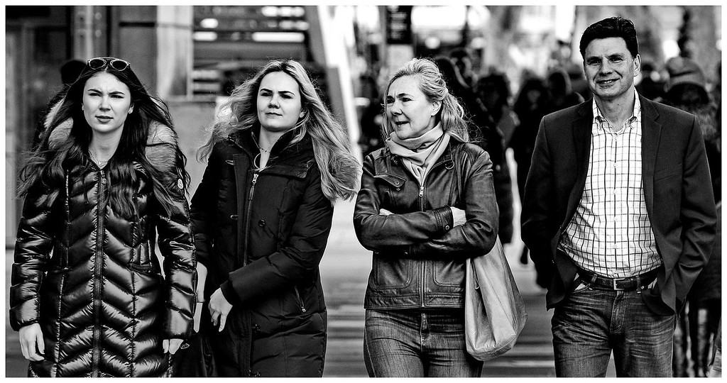 Street Portraits - South Bank