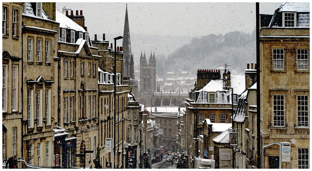 Winter View from Lansdown Hill