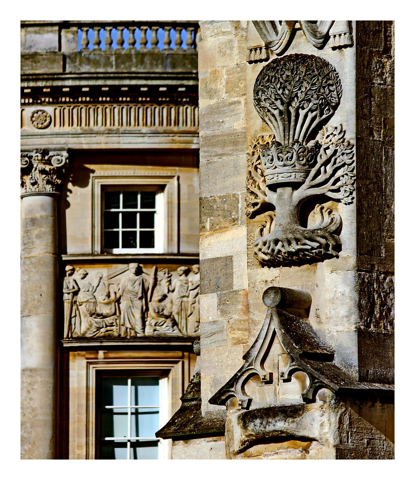 Bath Abbey Detail