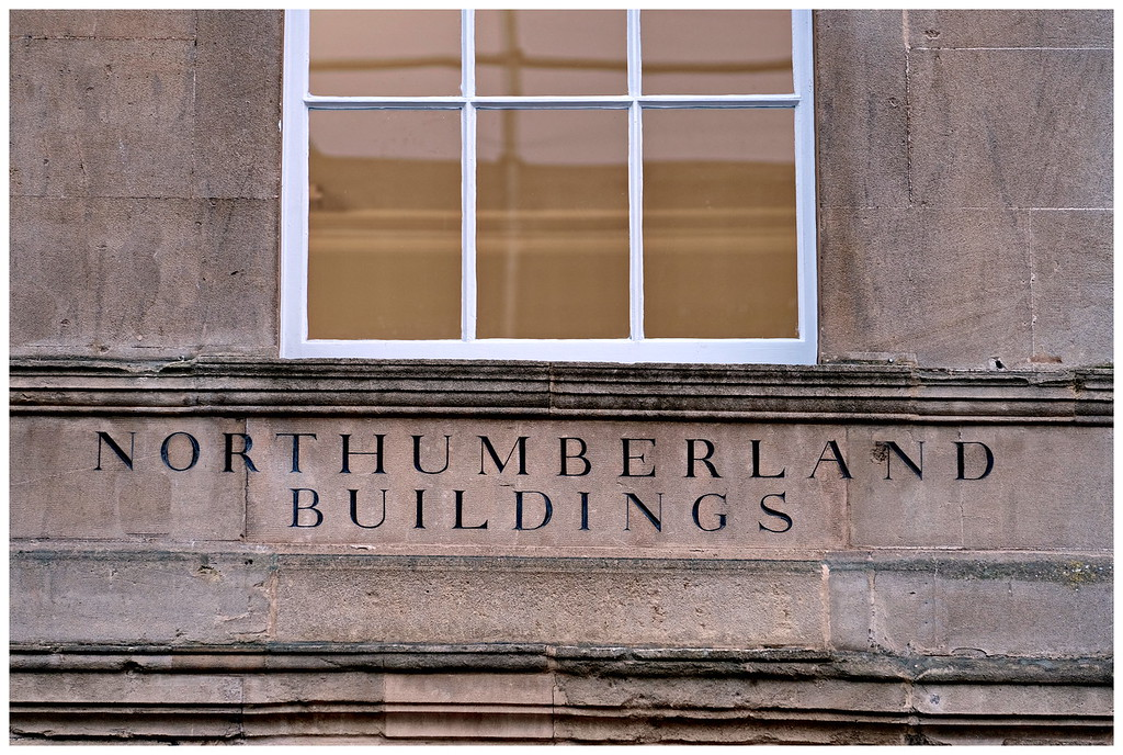 Northumberland Buildings Sign