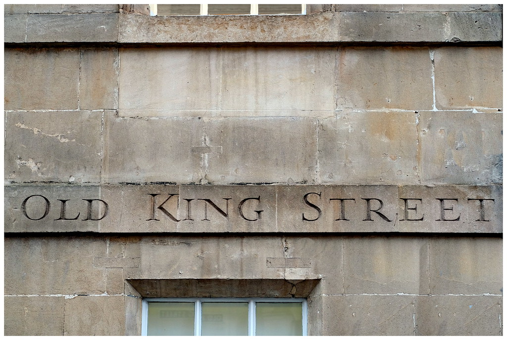 Old King Street Sign