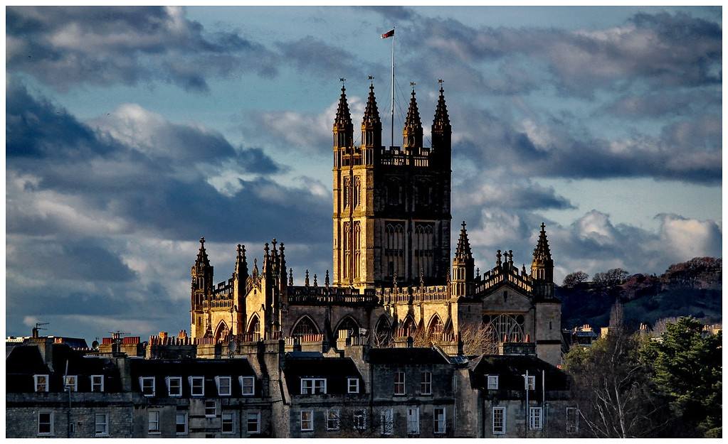 Bath Abbey from the East End