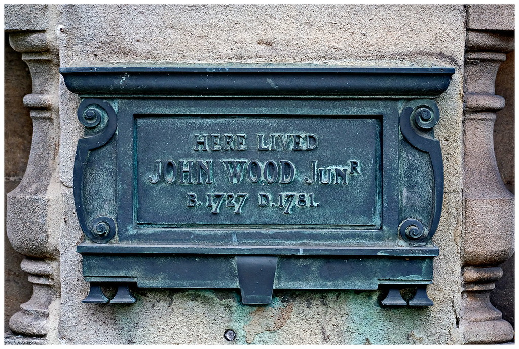 John Wood the Younger Sign - Queen Square