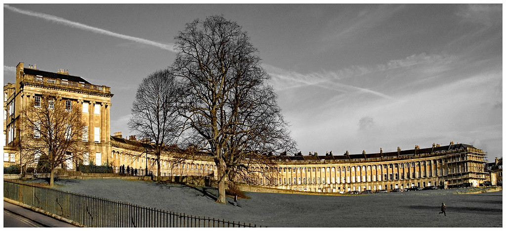 Royal Crescent in Winter