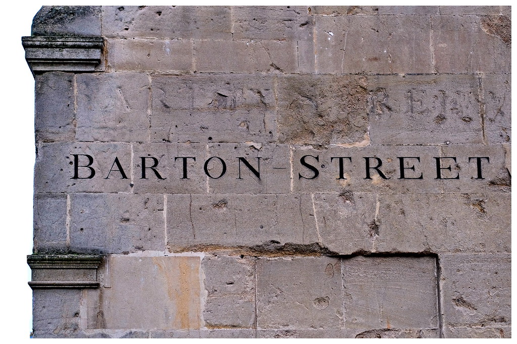 Barton Street Sign
