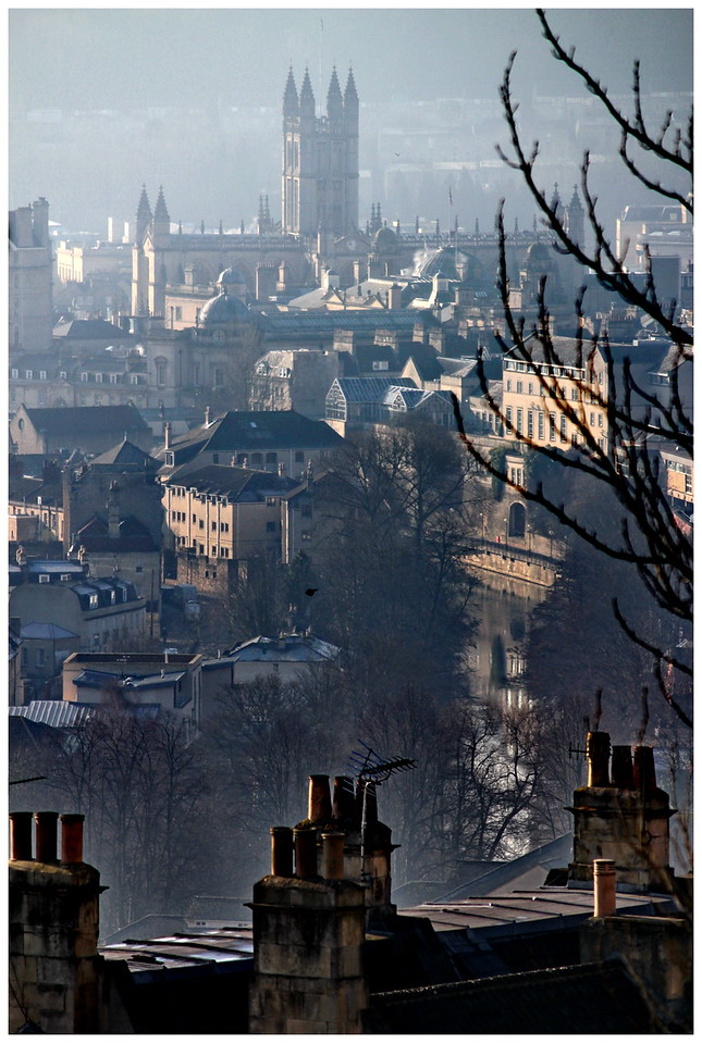 Bath Abbey from Perfect View