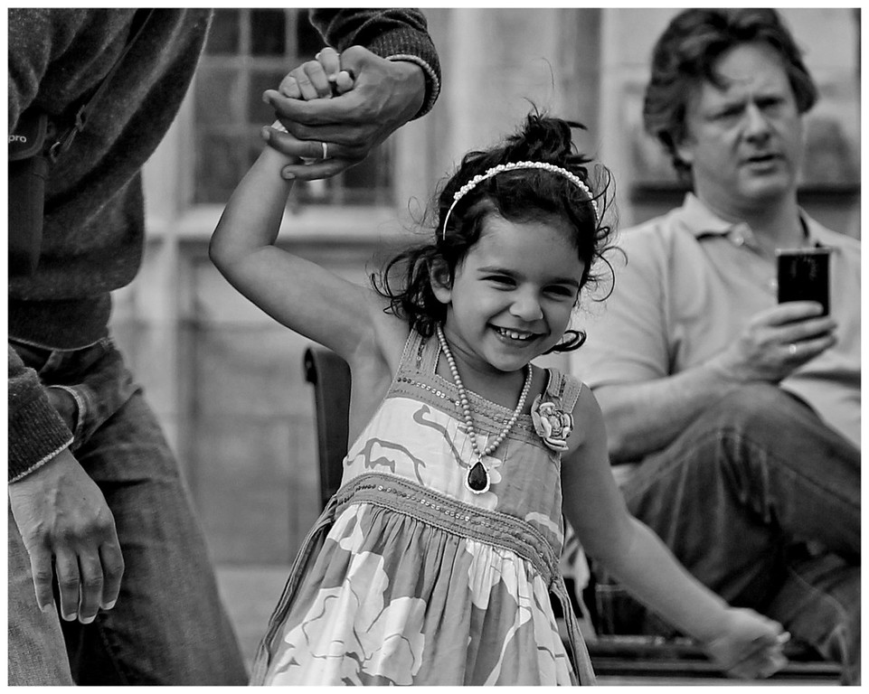 Holding Daddy's Hand - Abbey Yard Bath
