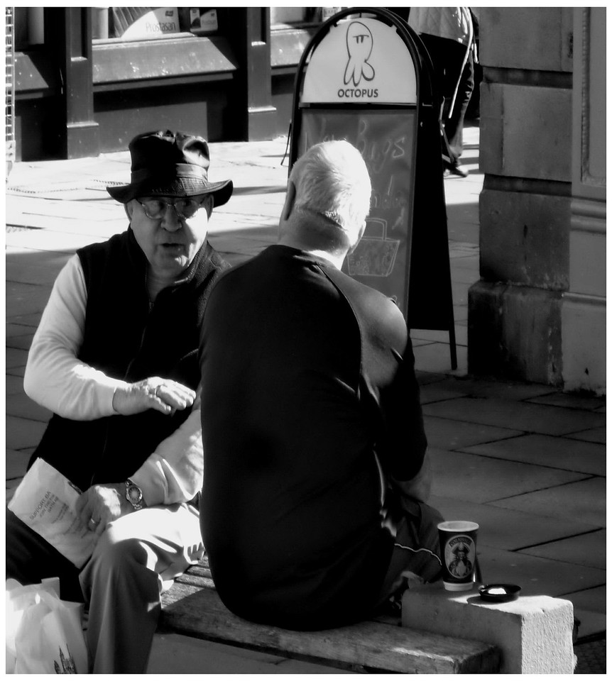 Animated Conversation - New Bond Street Bath
