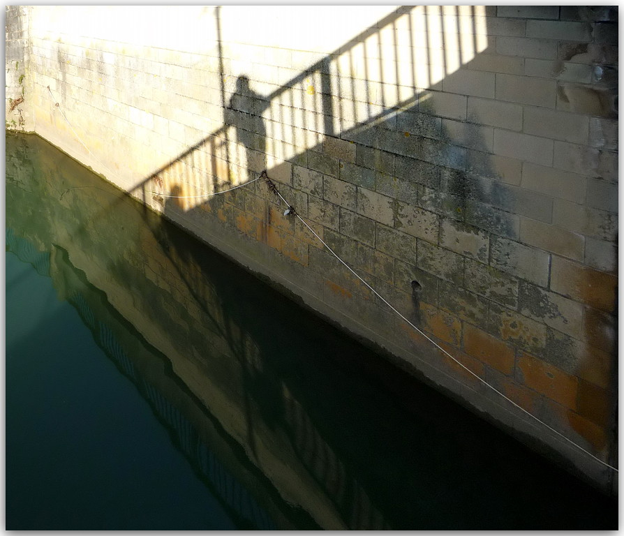 Shadow Figure - Churchill Bridge Bath