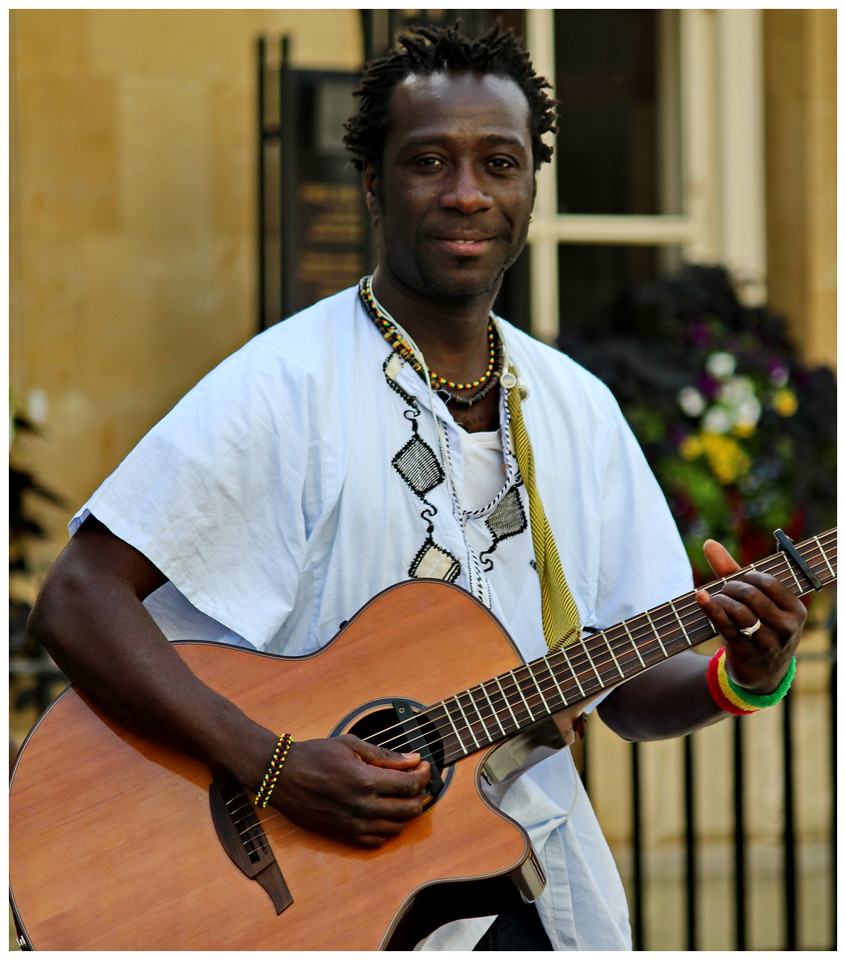 Portrait of a Busker - Abbey Yard Bath